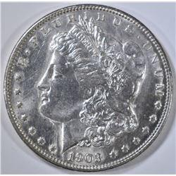 1903 MORGAN DOLLAR   CH/GEM BU  PL