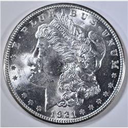 1921-S MORGAN DOLLAR   CH BU