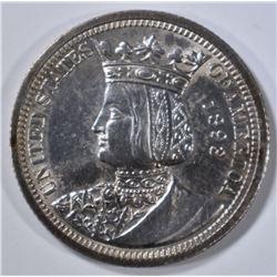 1893 ISABELLA QUARTER  CH BU