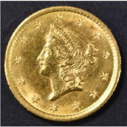 1851-O $1 GOLD LIBERTY  BU
