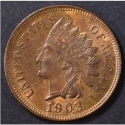 1903 INDIAN CENT CH BU RB