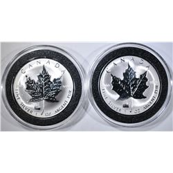 2-1998 TITANIC PRIVY REV Pf SILVER MAPLE LEAF COIN