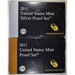 2011 U.S. CLAD & SILVER PROOF SETS