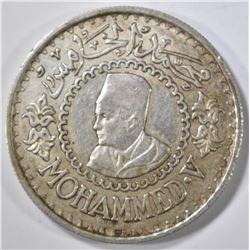 1956 MORROCO 500 FRANCS