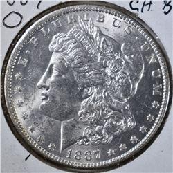 1887-O MORGAN DOLLAR CH BU