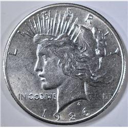 1926 PEACE DOLLAR, BU