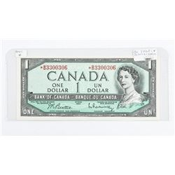 Bank of Canada 1954 1.00 *Replacement B/R (BM)