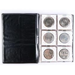 Book (20) Canada Nickel Dollars