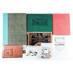 Estate Lot - Stamp Album and Stamps