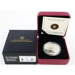 2011 .9999 Fine Silver $10.00 Coin 'Little Skaters
