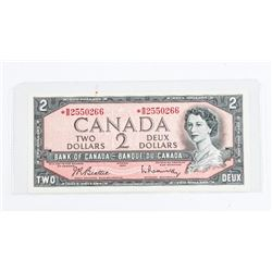 Bank of Canada 1954 2.00 *Replacement B/R (B/B)