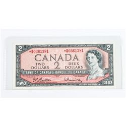 Bank of Canada 1954 2.00 *Replacement B/R (B/B) UN