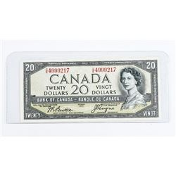 Bank of Canada 1954 20.00 devil's Face BC-33b Choi