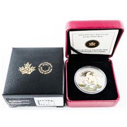 2014 $20.00 Fine Silver Coin Iconic Polar Bear (SO