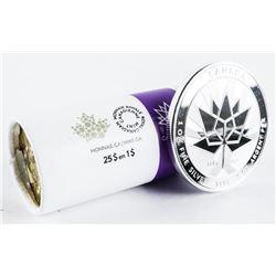 Canada 150 - .9999 Fine Silver 1oz Medal, Plus Min