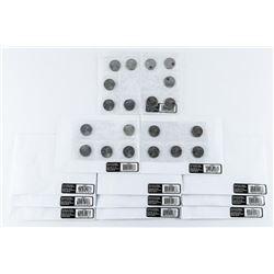 Lot (12) 10 Pack-Brock, Secord etc Coin Packs 25 C
