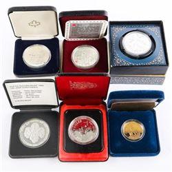 Estate Lot - CANADA Silver Dollars, Diana Coin etc
