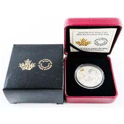 2014 $10.00 Fine Silver Coin - 70th Anniversary of