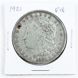 1921 USA Morgan Dollar (F18)