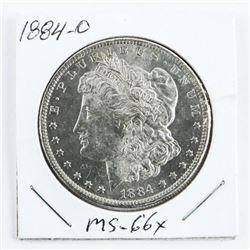 1884-(O) USA Morgan Dollar MS-66x (EMR)