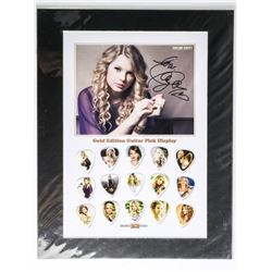 TAYLOR SWIFT Gold Edition, LE Guitar Pick Collecti