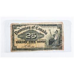 Dominion of Canada 1900 25 Cent 'Boville'