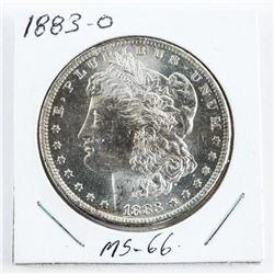 1883 (O) USA Morgan Dollar MS-66 (CMR)