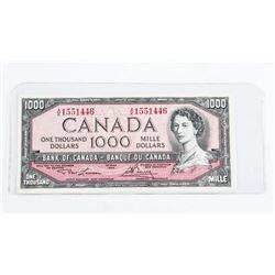 Bank of Canada 1954 1000.00 BC-44d UNC L/B
