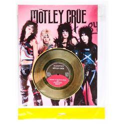 """MOTLEY CRUE - Gold Record 11x14"""""""