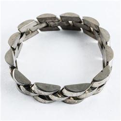 Estate Sterling Silver - Heavy Link Bracelet 67.96