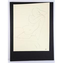 """HENRI MATISSE Fine Art Print. 18x22"""" Unframed"""