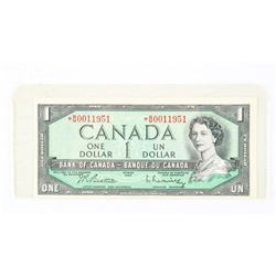 Bank of Canada 1954 * Replacement Modified Portrai