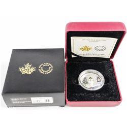 2014 .9999 Fine Silver $20.00 'Snowman' with C.O.A