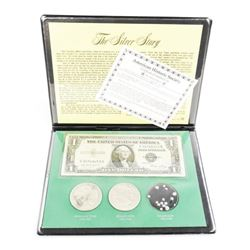 The Silver Story USA Folio with Note