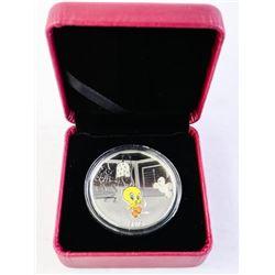 2015 $20.00 Fine Silver Looney Tunes 'Tweety Bird'