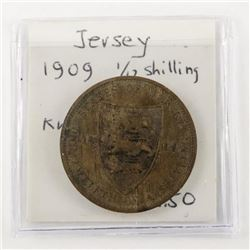 Jersey 1909 1/12 Shilling (EF) KM#10