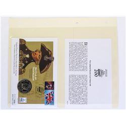 Battle of Trafalgar Cover and Medal