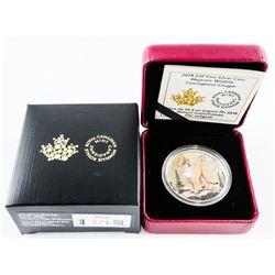 2018 $20.00 .9999 Fine Silver Coin - 'Majestic Wil