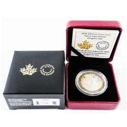 2018 $20.00 .9999 Fine Silver Coin - 'Norse Figure