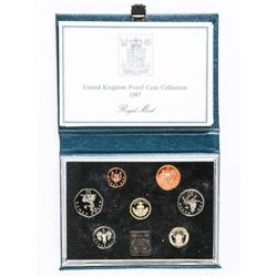 UK 1987 Proof Coin Set Royal Mint