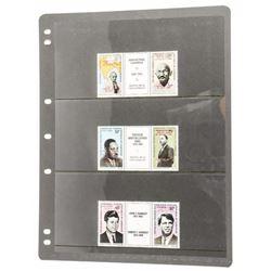 Mint Stamps - 3 Leaders Gandhi - Luther King - Ken