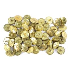Lot (50) Brass Air Cadets CDA Buttons Made y Wm. S