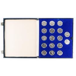 Estate Collection CANADA Nickel Dollars - Cased Ap