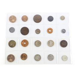 Estate Lot (20) World Coins