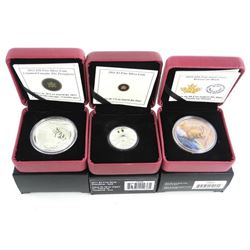 Group of (3) .9999 Fine Silver Coins 2 x $20.00