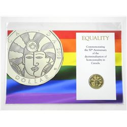 Equality Dollar Coin Display Card with Special Edi