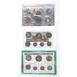 Lot (3) RCM UNC Coin Sets: 1997 OTT - 2004P - 2013