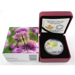 Butterflies of Canada .9999 Fine Silver $20.00 Coi