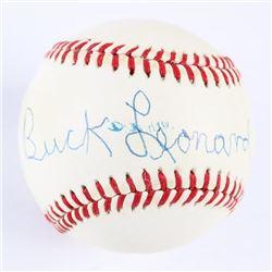 Estate Buck Leonard Rawlings Baseball Signed