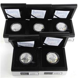 Sochi 2014 Russia Olympics Group (5) 925 Silver Co